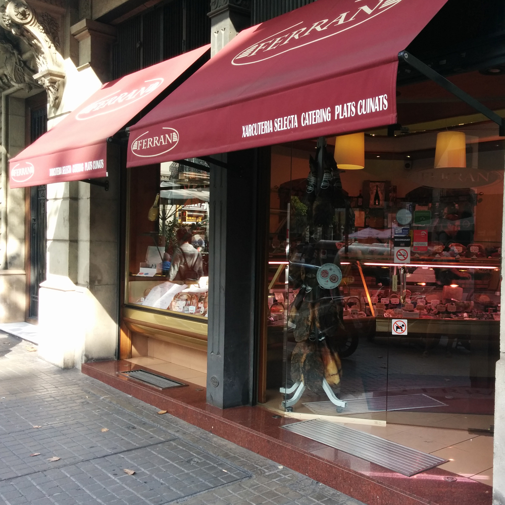 Xarcuteria Ferran | Barcelona Shopping City | Gourmet and grocery stores