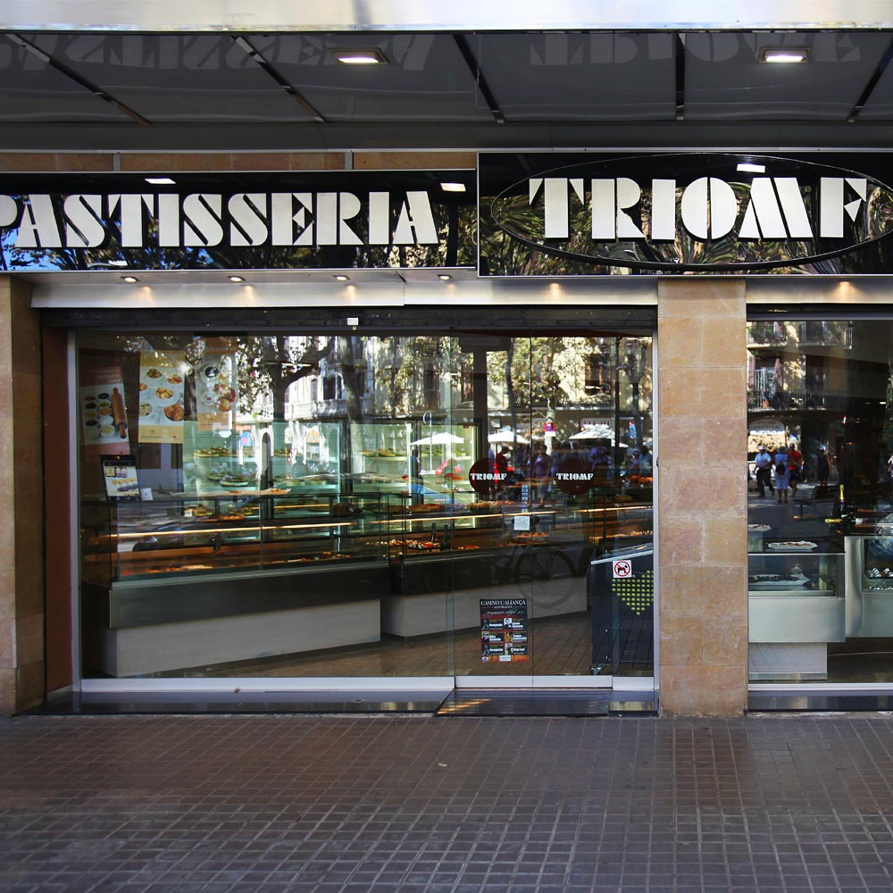 Pastisseria Triomf | Barcelona Shopping City | Gourmet and grocery stores