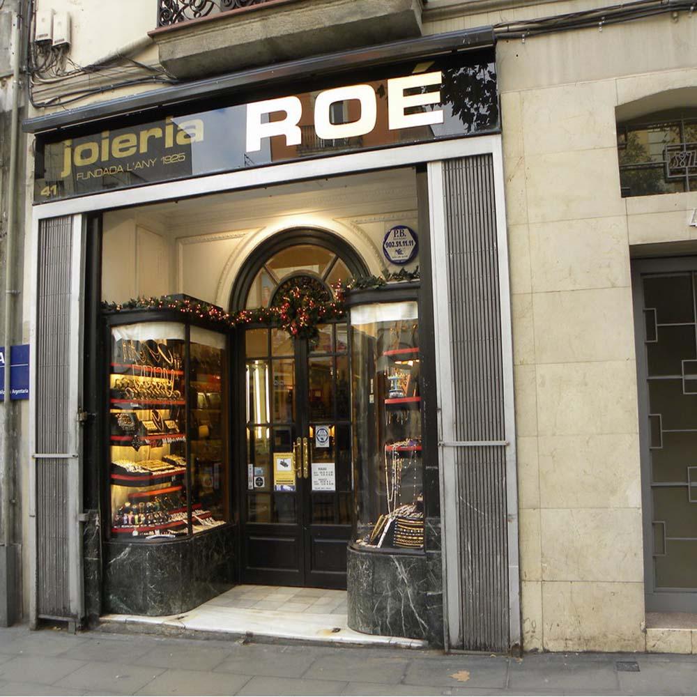 Joieria Roe | Barcelona Shopping City | Emblemáticas y centenarias