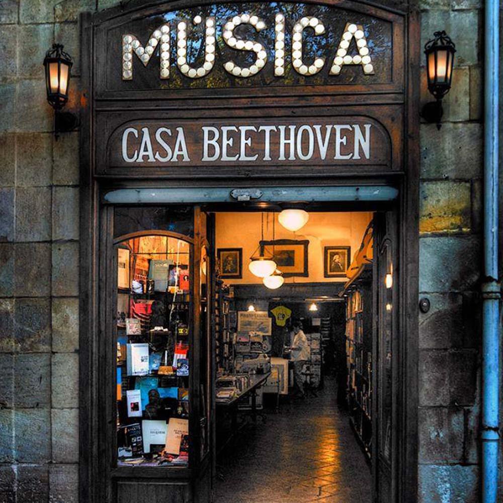 Casa Beethoven | Barcelona Shopping City | Negozi antichi ed emblematici